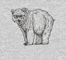 Hipster Bear Unisex T-Shirt