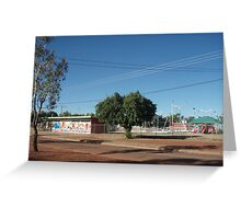 Tennant Creek, NT, Australia - Park and Pool Greeting Card