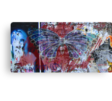 Graffiti City Canvas Print