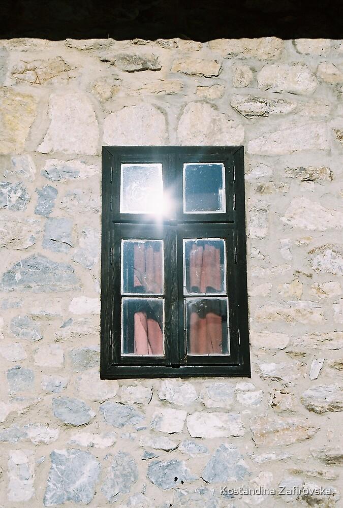 Shining window by Kostandina Zafirovska
