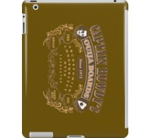 Captain Howdy's Ouija Boards (Color Print) iPad Case/Skin