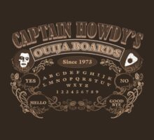 Captain Howdy's Ouija Boards (Color Print) by GritFX