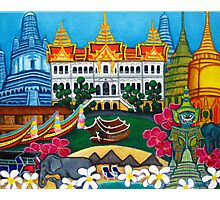 Exotic Bangkok Photographic Print