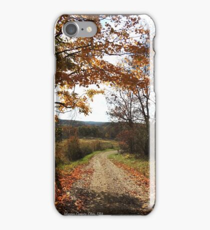 Redbubble Morgan County Lane iPhone Case/Skin