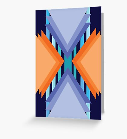 Complementary Geometric Greeting Card