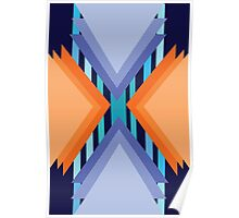 Complementary Geometric Poster