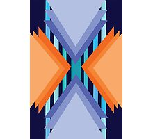 Complementary Geometric Photographic Print