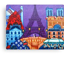 Wonders of Paris Canvas Print