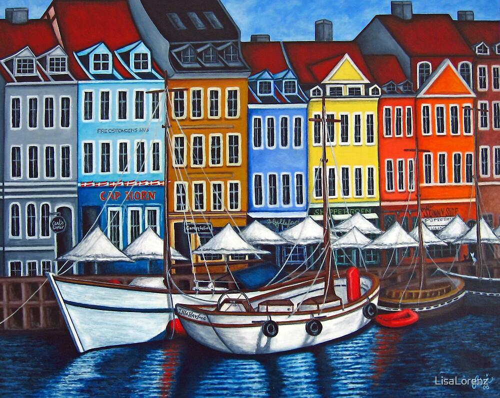 Colours of Nyhavn  by LisaLorenz