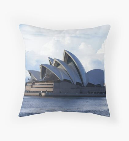 opera house Throw Pillow