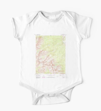 USGS TOPO Map Colorado CO Willow Lakes 234936 1970 24000 One Piece - Short Sleeve