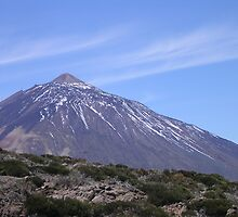 Mount Teide in Tenerife by Debby Allen
