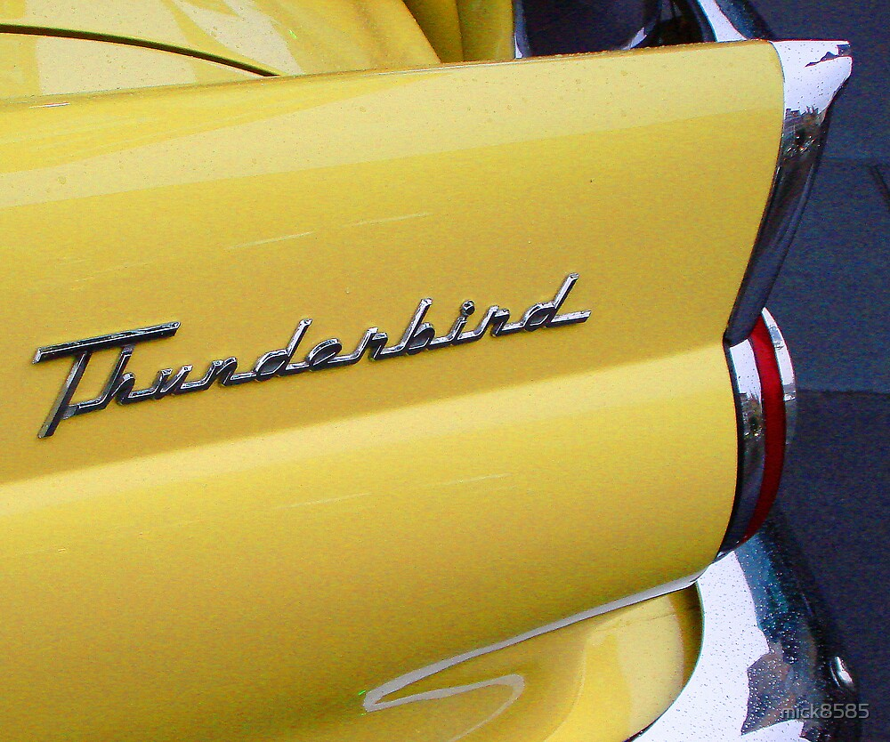 yellow T-BIRD by mick8585