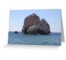 Aphrodite's Rock Greeting Card