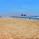 Rockaway Beach - Oregon by Brad Collins