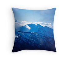 Mt.Feathertop Throw Pillow