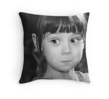 I'm Saying Nuthin' Throw Pillow