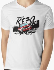 KE70 The Edge Mens V-Neck T-Shirt