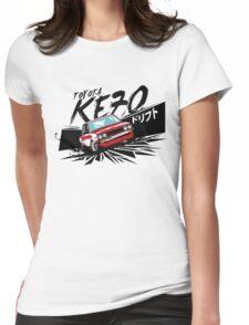 KE70 The Edge Womens Fitted T-Shirt
