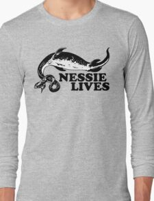 Nessie Lives Long Sleeve T-Shirt