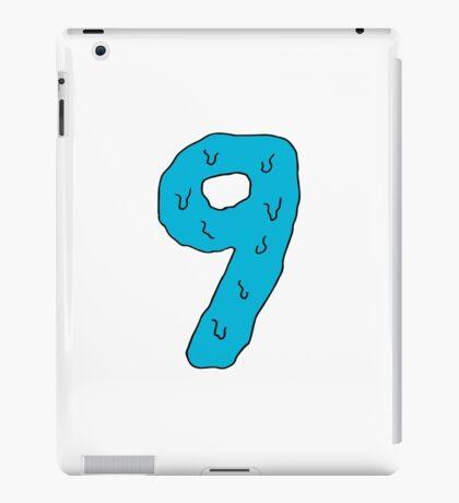 nine pantone blue iPad Case/Skin