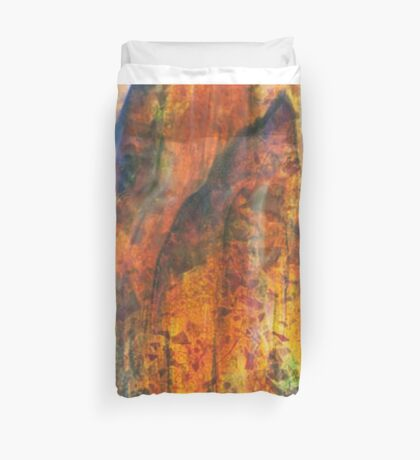 Indomitable Colorized Duvet Cover