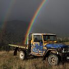 The FJ40 at the end of the rainbow by Donovan wilson