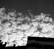 Budapest Sky 1 by Carlos Contreras