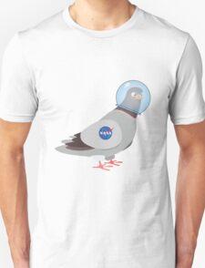 NASA Space Pigeon Unisex T-Shirt