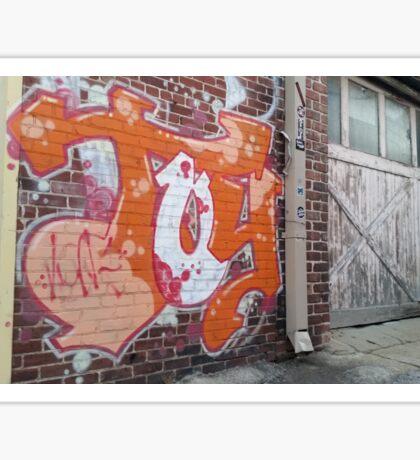 Urban Graffiti tag TOY Sticker