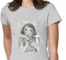 Lupe(Velez) Womens Fitted T-Shirt