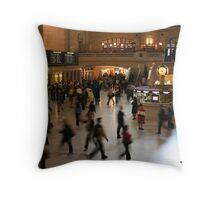 Grand Central New York Throw Pillow