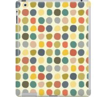 baby ikat spots cream iPad Case/Skin