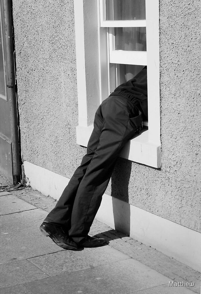 peeping tom by Matthew
