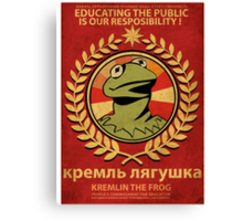 Kremlin The Frog Canvas Print