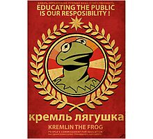 Kremlin The Frog Photographic Print