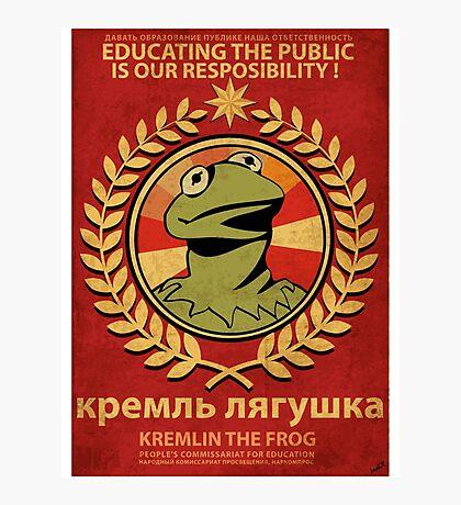 Kremlin The Frog Photographic Print