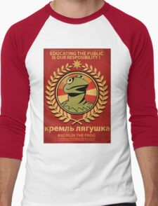 Kremlin The Frog Men's Baseball ¾ T-Shirt