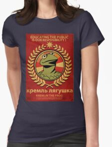 Kremlin The Frog Womens Fitted T-Shirt