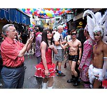 Bangkok Pride Parade  Photographic Print