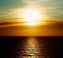 Sunset in Miami by Kara Rountree