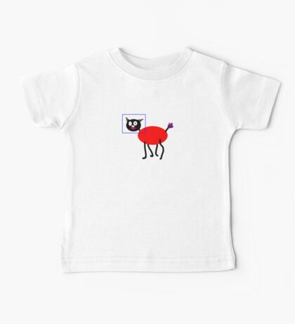 ME-WOW SILLY ITTY BITTY KITTY Baby Tee