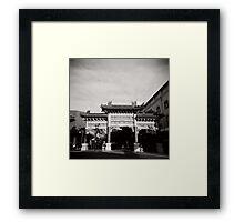 China Town - Brisbane Framed Print