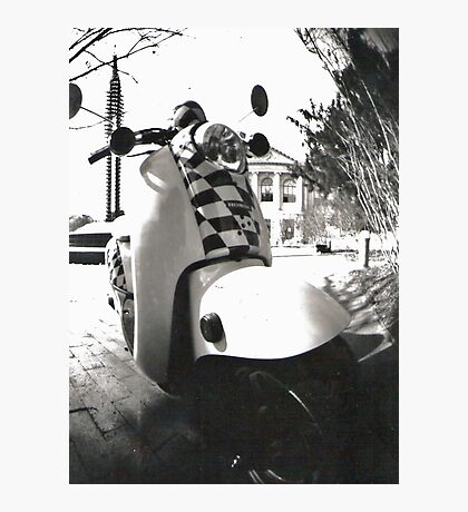 Scooter. Photographic Print