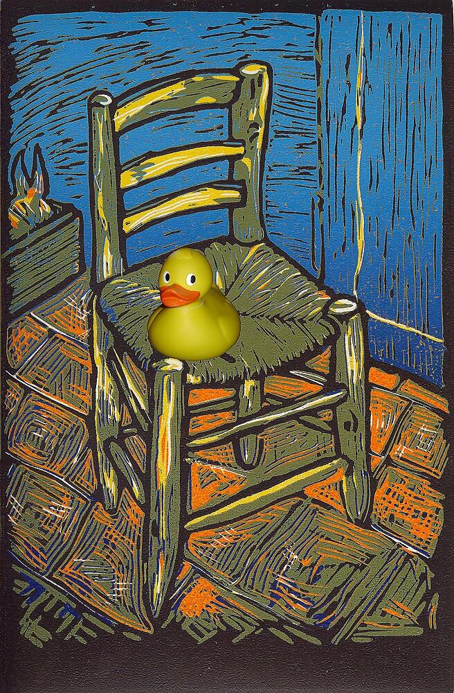 Rubber Duckie for van Gogh by Marilyn Brown