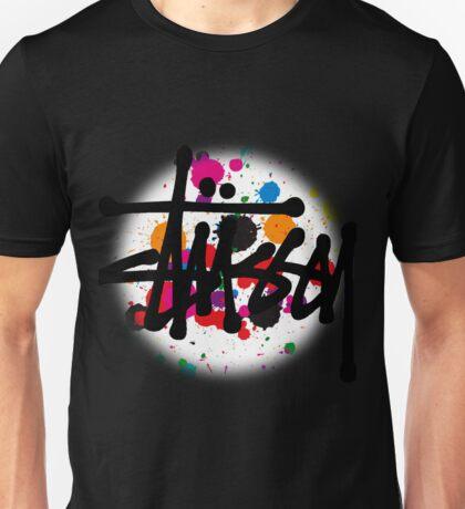 STUSSY DESIGNS BRUSH COLORS Unisex T-Shirt