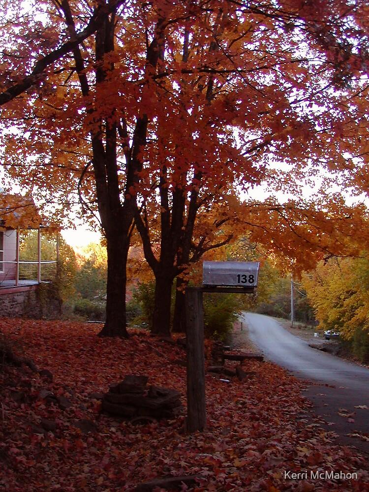 Fall Lane by Kerri McMahon