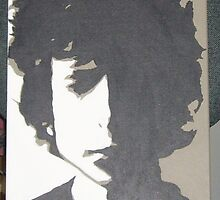 Bob Dylan Canvas by lizmix