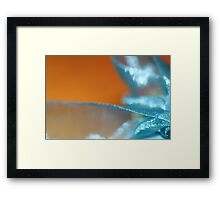 UnWrapping  - JUSTART © Framed Print