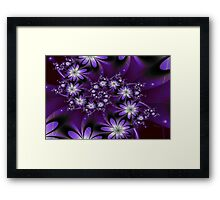 They Glow At Night Framed Print